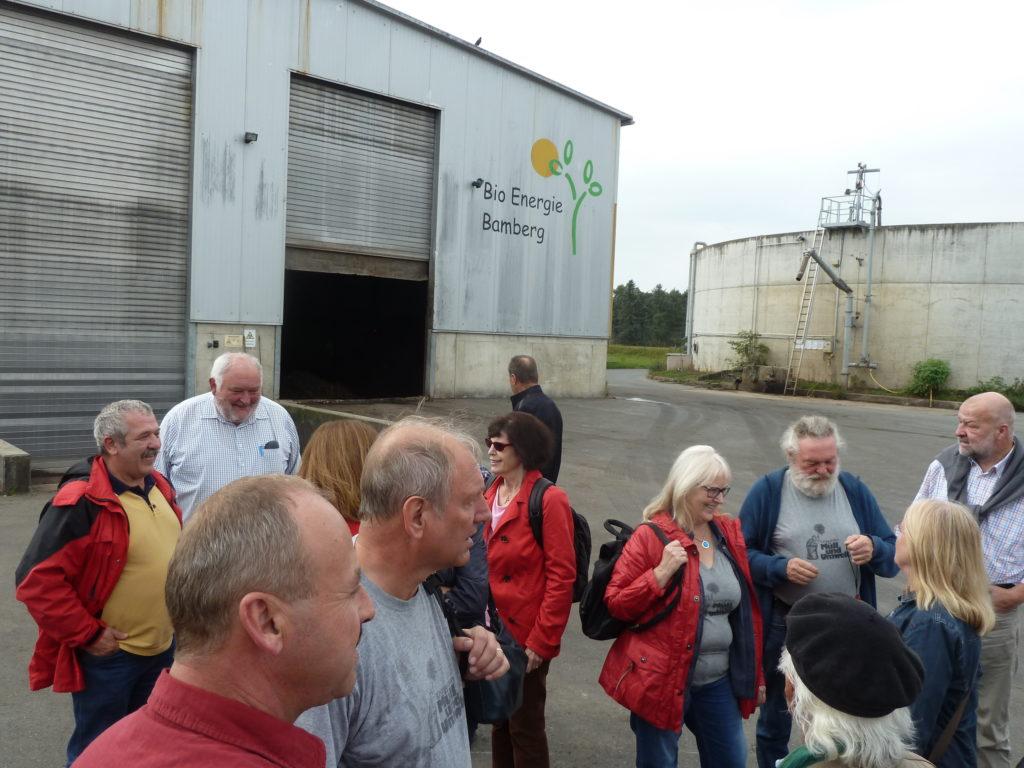 Biomüll-Vergärungsanlage Strullendorf